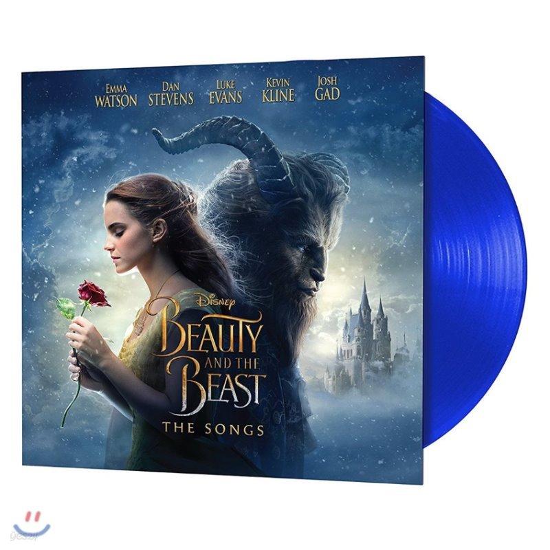 미녀와 야수 2017 디즈니 영화음악 (Beauty and the Beast OST by Alan Menken) [블루 컬러 LP]