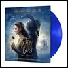 미녀와 야수 2017 디즈니 영화음악 (Beauty and the Beast OST by Alan Menken 앨런 멘켄) [블루 컬러 디스크 LP]
