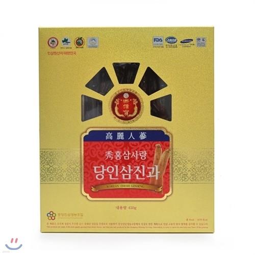[수홍삼사랑] 6년근 수홍삼 당인삼 진과 450g