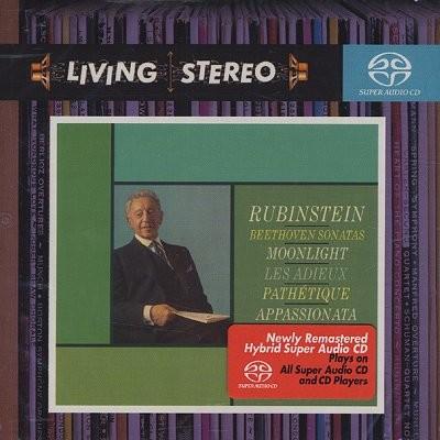 Arthur Rubinstein 베토벤: 피아노 소나타 8번 `비창, 14번 `월광`, 23번 `열정`, 26번 `고별` (Beethoven: Piano Sonatas) 아르투르 루빈스타인