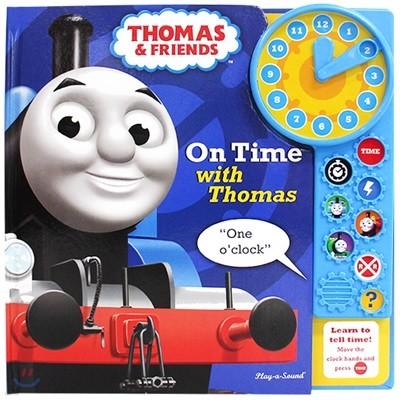 Thomas Clock Book 토마스 사운드 토이북