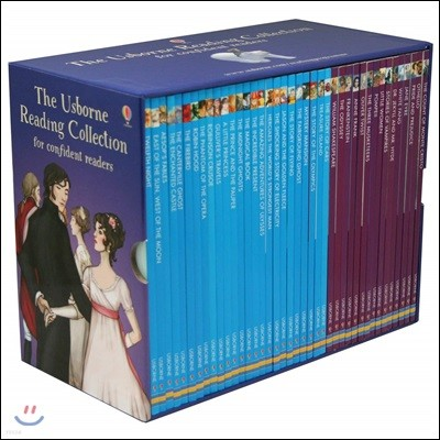 [쿠폰가 99,000원][어스본 리딩 4단계] Usborne Reading Collection for confident readers 40권 세트 (Book & CD)
