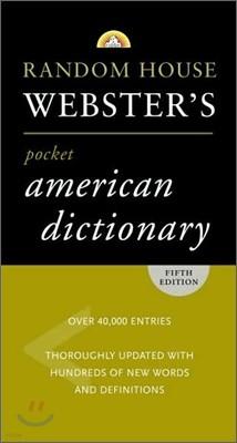 Random House Webster's Pocket American Dictionary, 5/E