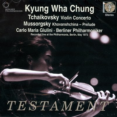 정경화 / Carlo Maria Giulini 차이코프스키: 바이올린 협주곡 (Mussorgsky: Khovanshchina / Tchaikovsky: Violin Concerto)