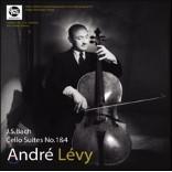Andre Levy 앙드레 레비의 바흐: 무반주 첼로 모음곡 1집 - 1번, 4번 (J.S. Bach: Cello Suite Vol.1 - BWV1007 & 1010) [LP]