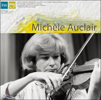 Michele Auclair 미셸 오클레르 마지막 방송 실황 녹음 - 생상스: 바이올린 협주곡 3번 (Saint-Saens: Violin Concerto / Bartok: Rhapsody) [LP]