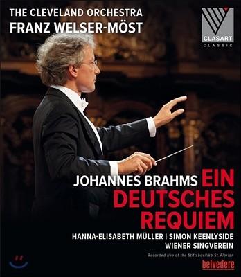 Franz Welser-Most 브람스: 독일 레퀴엠 (Brahms: Ein Deutsches Requiem Op. 45) 클리브랜드 오케스트라, 프란츠 뵐저-뫼스트