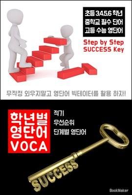 학년별 영단어 VOCA (우선순위 단계별 영단어