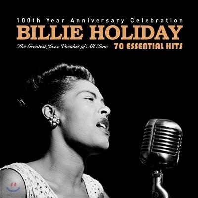 Billie Holiday (빌리 홀리데이) - 70 Essential Hits : 100th Year Anniversary Celebration 탄생 100주년 기념 앨범