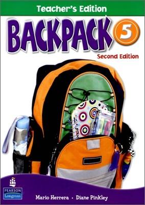 Backpack 5 : Teacher's Edition