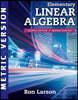 Elementary Linear Algebra, 8/E