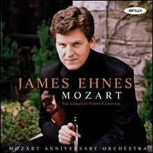 James Ehnes 모차르트: 바이올린 협주곡 전곡, 아다지오 K261, 론도 K269 & 373 (Mozart: The Complete Violin Concertos) 제임스 에네스, 모차르트 애니버서리 오케스트라