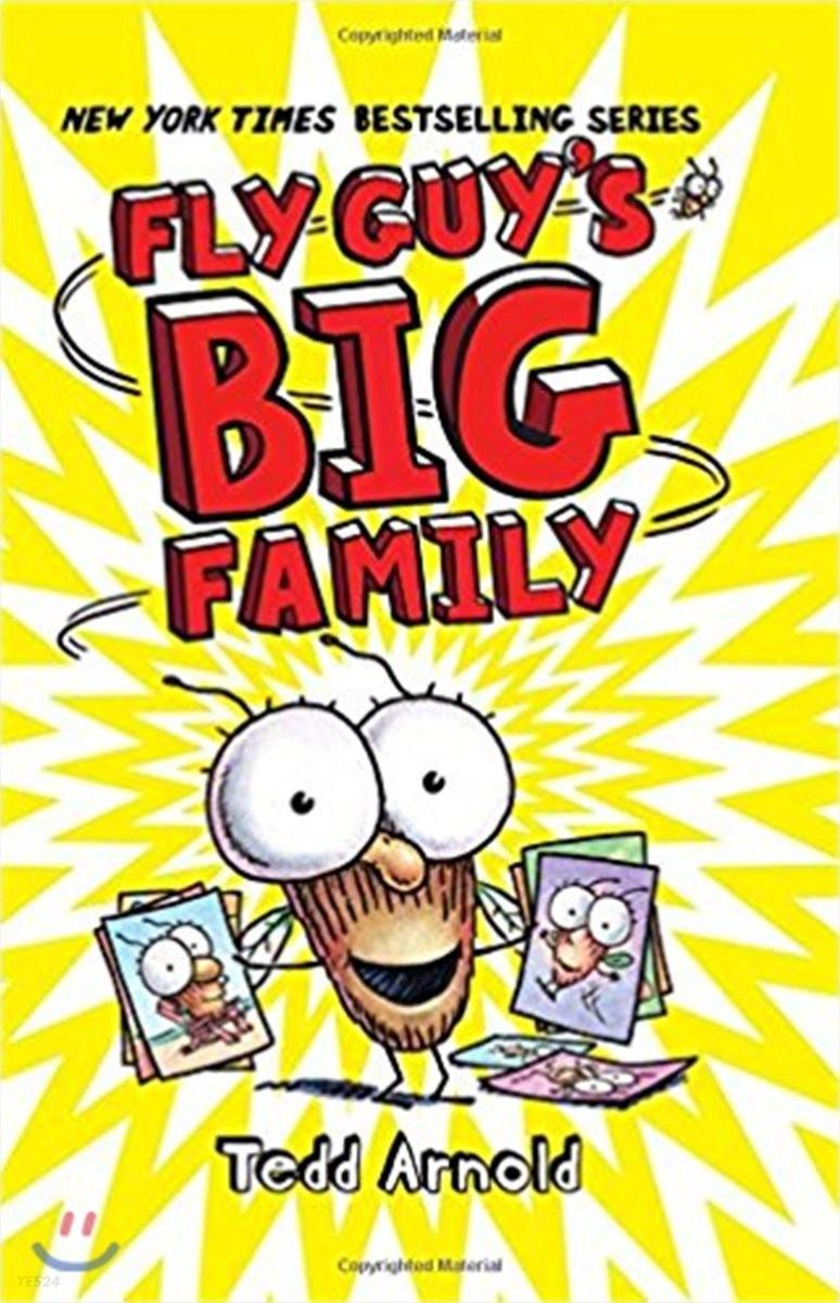 Fly Guy's Big Family #17