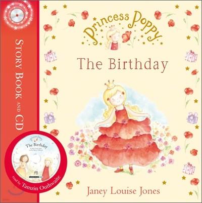 Princess Poppy : The Birthday (Book & CD)