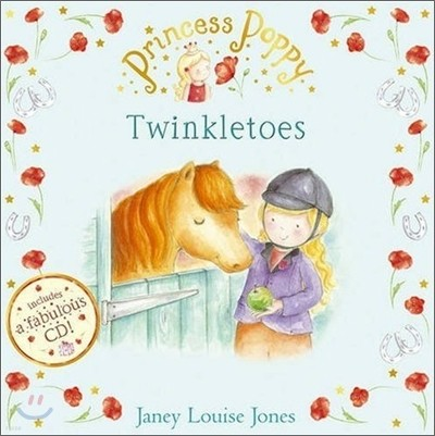 Princess Poppy : Twinkletoes (Book & CD)
