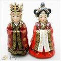 한국인형 시리즈- 고려왕.왕비 한쌍/왕비인형/왕인형/혼례인형/전통인형/인형선물/친구생일선물/외국인선물