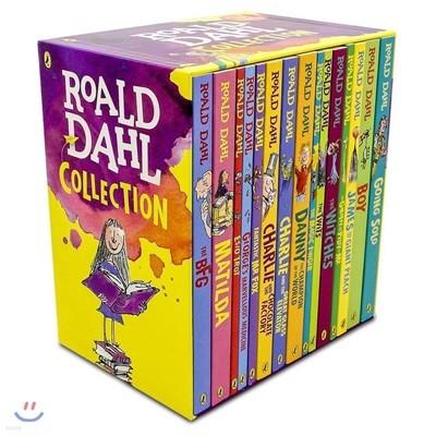 로알드달 베스트 15종 박스 세트 : Roald Dahl Collection Gift Set (개정판)