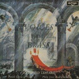 필립 존스 브라스 앙상블 - 성악과 금관악기 (Philip Jones Brass Ensemble - Voices & Brass) (Ltd. Ed)(SHM-CD)(일본반) - Philip Jones Brass Ensemble