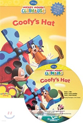 Disney Mickey Mouse Clubhouse Early Reader Level Pre-1 : Goofy's Hat (Book + CD)