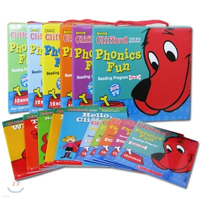 Clifford Phonics Fun Pack 1-6 Full Set