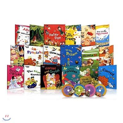 이지룩 잉글리시 세계명작동화 (Easy Look English: 전20권+CD4장)