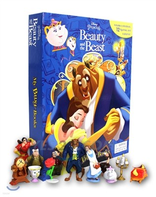 Disney Beauty and The Beast My Busy Book 디즈니 미녀와 야수 비지북