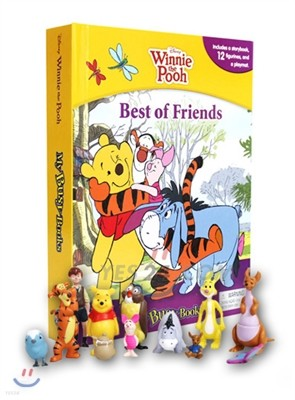 Disney Pooh the Best of Friends My Busy Book 디즈니 곰돌이 푸우 비지북