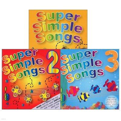 Super Simple Songs Vol.1~3