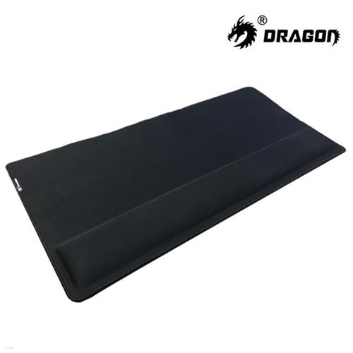 DRAGON 메모리폼 손목보호 게이밍 장패드 MOP-20...