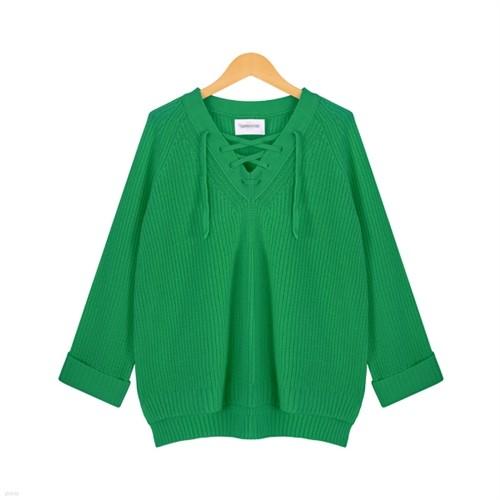 [드레스날다] 레글런 하찌 언발 아일렛 니트(knit361)