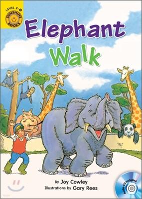 Sunshine Readers Level 2 : Elephant Walk (Book & Workbook Set)