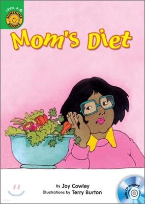 Sunshine Readers Level 4 : Mom's Diet (Book & Workbook Set)