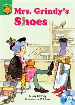 Sunshine Readers Level 4 : Mrs. Grindy's Shoes (Book & Workbook Set)