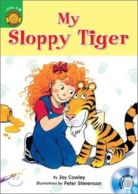 Sunshine Readers Level 4 : My Sloppy Tiger (Book & Workbook Set)