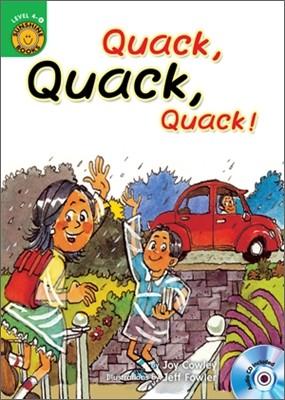 Sunshine Readers Level 4 : Quack, Quack, Quack (Book & Workbook Set)