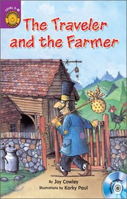 Sunshine Readers Level 5 : The Traveller and The Farmer (Book & Workbook Set)
