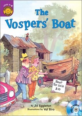 Sunshine Readers Level 5 : The Vosper's Boat (Book & Workbook Set)