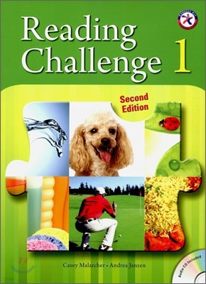 Reading Challenge 1 : Student's Book with Audio CD, 2/E