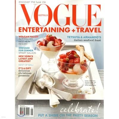 [과월호]Vogue Entertaining Travel (격월간) : 2009년 12월/2010년 01월