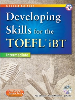 New Developing TOEFL iBT 4 Skills : Combined Book with MP3 CD
