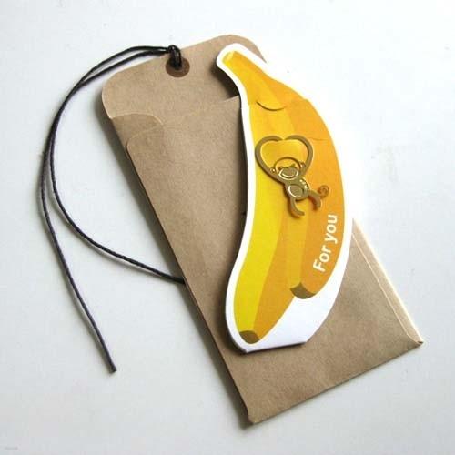 [북마크 택카드] 하트원숭이 - 센스쟁이당신에게 꼭 필요한 북찌 책갈피 택카드