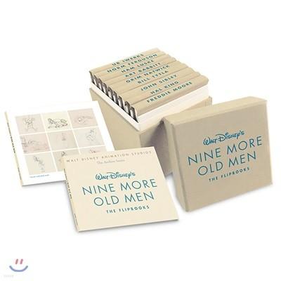 Walt Disney`s Nine More Old Men : The Flipbooks : 월트 디즈니 애니메이션 스튜디오 아카이브 시리즈 (1세대 원로 작가 원화집/아트북 2탄)