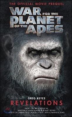 War for the Planet of the Apes: Revelations '혹성탈출 : 종의 전쟁' 공식 프리퀄 소설