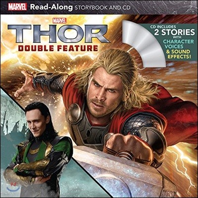 Thor Double Feature Read-along Storybook
