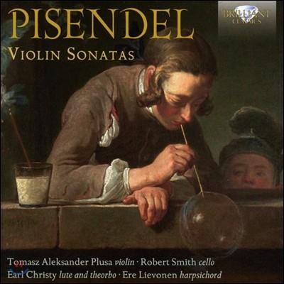 Tomasz Aleksander Plusa 피젠델: 바이올린 소나타집 (Johann Georg Pisendel: Violin Sonatas) 토마시 알렉산데르 플루사