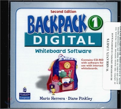 Backpack 1 Interactive Whiteboard : CD-ROM