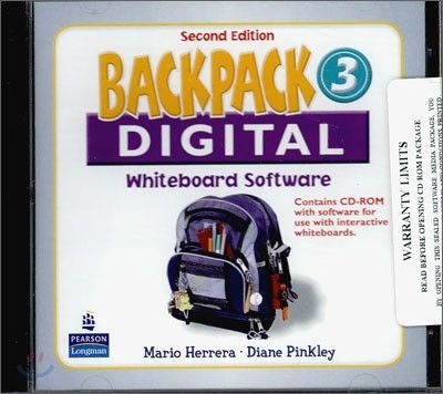 Backpack 3 Interactive Whiteboard : CD-ROM