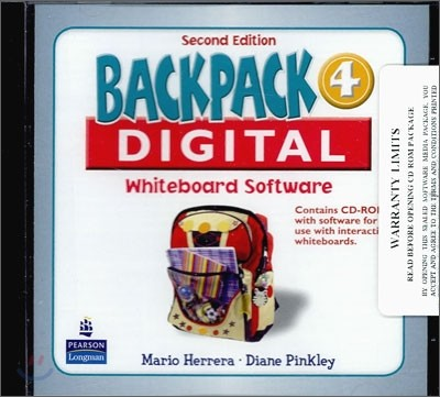Backpack 4 Interactive Whiteboard : CD-ROM