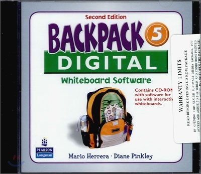 Backpack 5 Interactive Whiteboard : CD-ROM