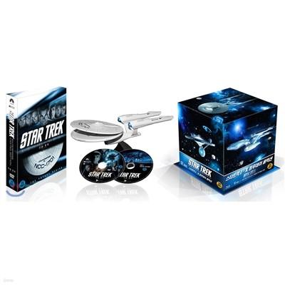 스타트랙 I-X 블루레이 콜렉션 + 스타트렉:더비기닝 엔터프라이즈 DVD 한정패키지
